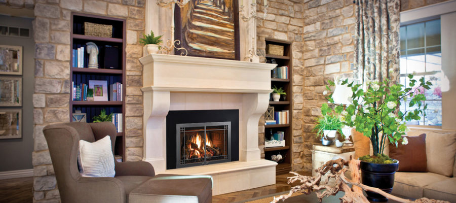 Mendota FV33i Homestead Gas Fireplace Insert
