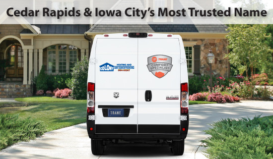 Most Trusted Heating, Cooling, Plumbing, Geothermal and Fireplace services in the Cedar Rapids and Iowa City area