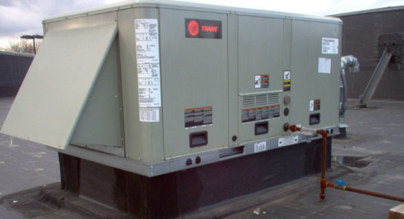 Trane Commercial HVAC Rooftop Heating and Cooling Unit