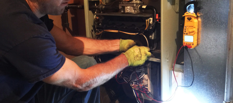 Furnace Maintenance Clean and Check by Colony Heating and Air Conditioning