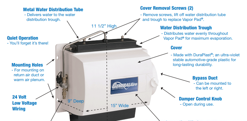 Whole House Humidifier by Colony Plumbing, Heating and Air Conditioning
