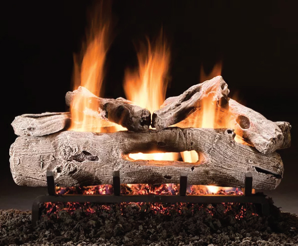 Driftwood_Hargrove_Logset_Fireplace_Colony_Heating_Air_Conditioning