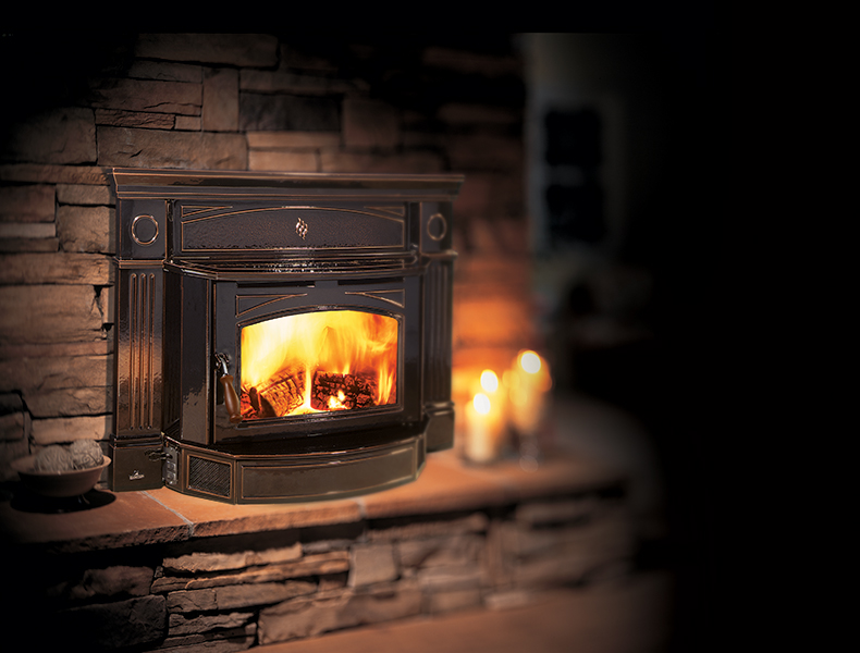 Colony Plumbing, Heating and Air Conditioning Fireplace Insert in Cedar Rapids, Iowa City
