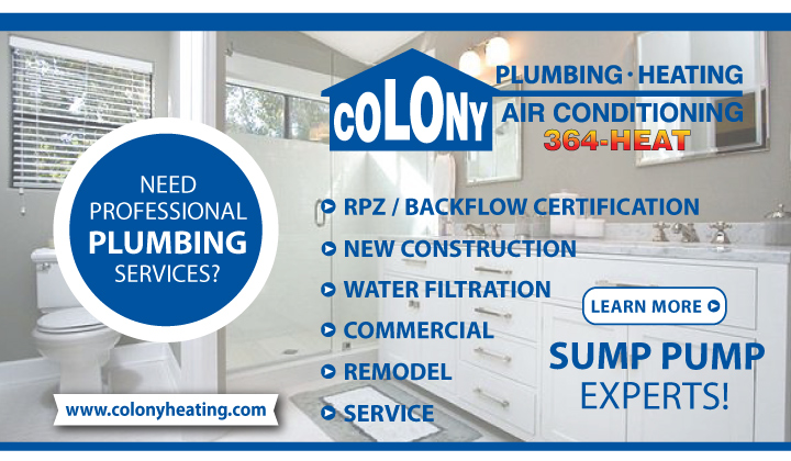 Colony Plumbing, Cedar Rapids, Iowa City, North Liberty