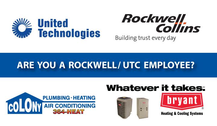 ROCKWELL-UTC-PROGRAM-BRYANT-COLONY-HEATING-COOLING-AIR-CONDITIONING-CEDAR-RAPIDS-IOWA-CITY
