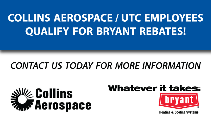 bryant-air-conditioner-rebates-collins-aerospace-utc-colony
