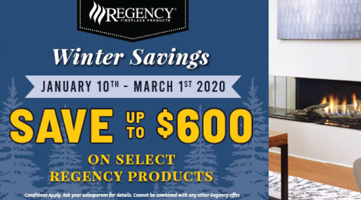 Regency Fireplace Winter Sale