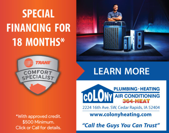 L-Ad-Special-HVAC-Financing-2021-Colony-Plumbing-Heating-Air-Conditioning-Cedar-Rapids-Iowa-City-North-Liberty